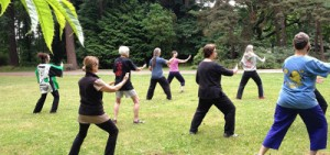 Tai Chi Group of Beginners